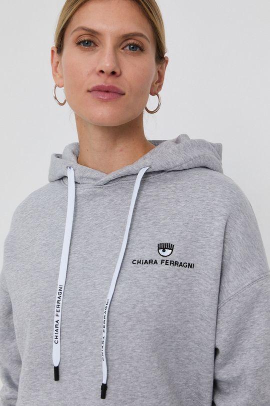 Chiara Ferragni - Hanorac de bumbac Logo Basic De femei