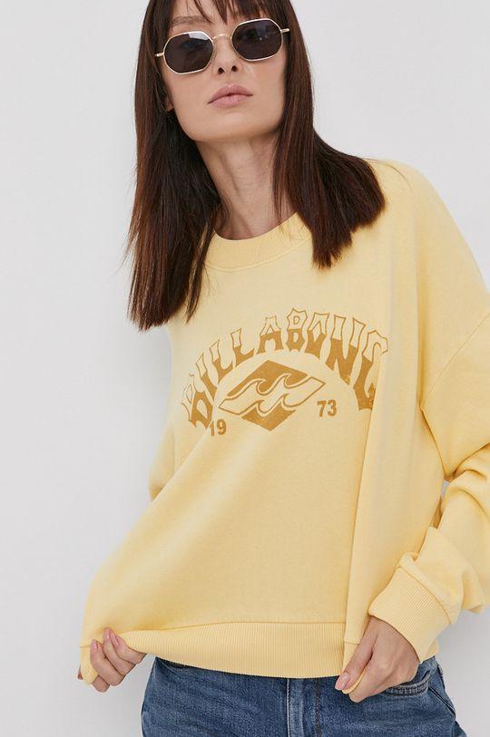 žlutá Billabong - Bavlněná mikina
