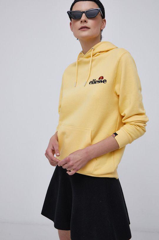 żółty Ellesse - Bluza Damski
