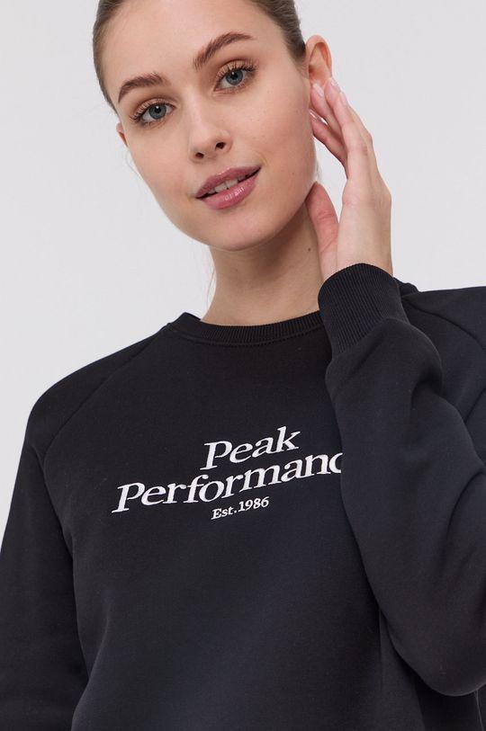 čierna Peak Performance - Mikina