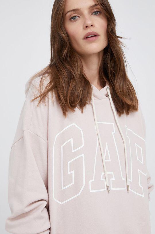 różowy GAP - Bluza