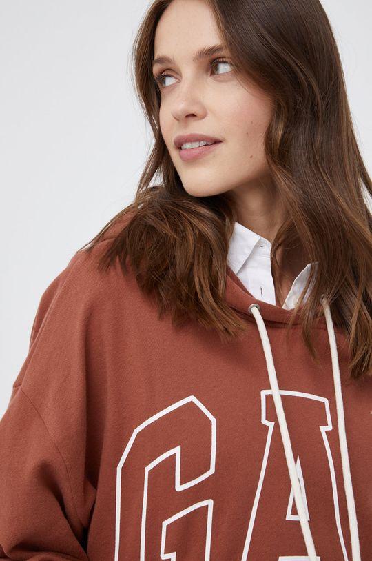 brązowy GAP - Bluza