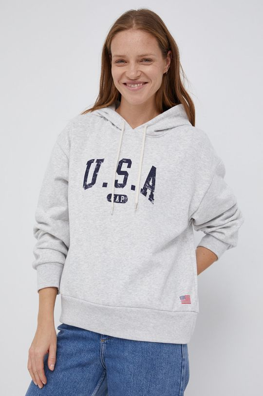jasny szary GAP - Bluza