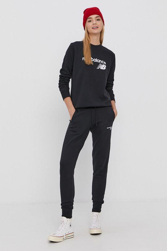 New Balance - Bluza negru