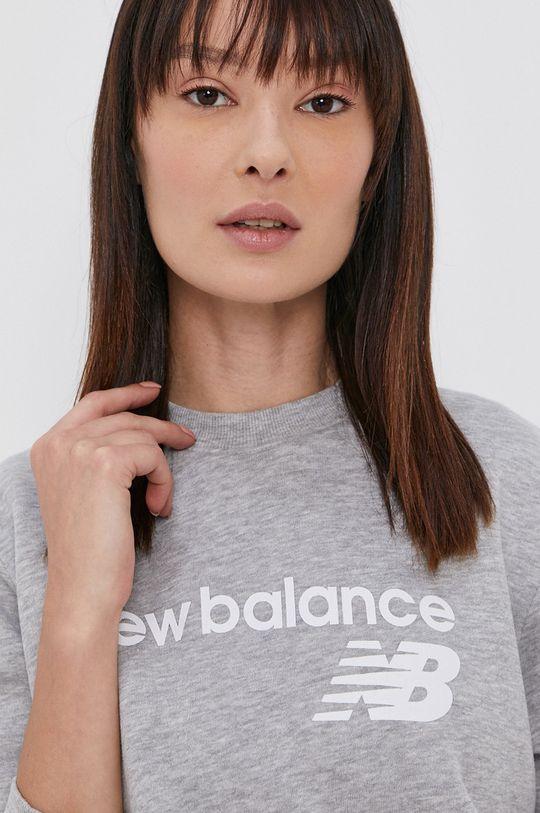 šedá New Balance - Mikina