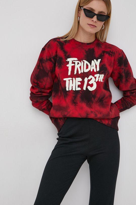 Vans - Bluza Friday The 13th czerwony