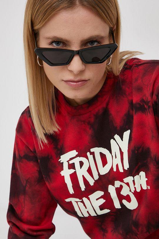 czerwony Vans - Bluza Friday The 13th