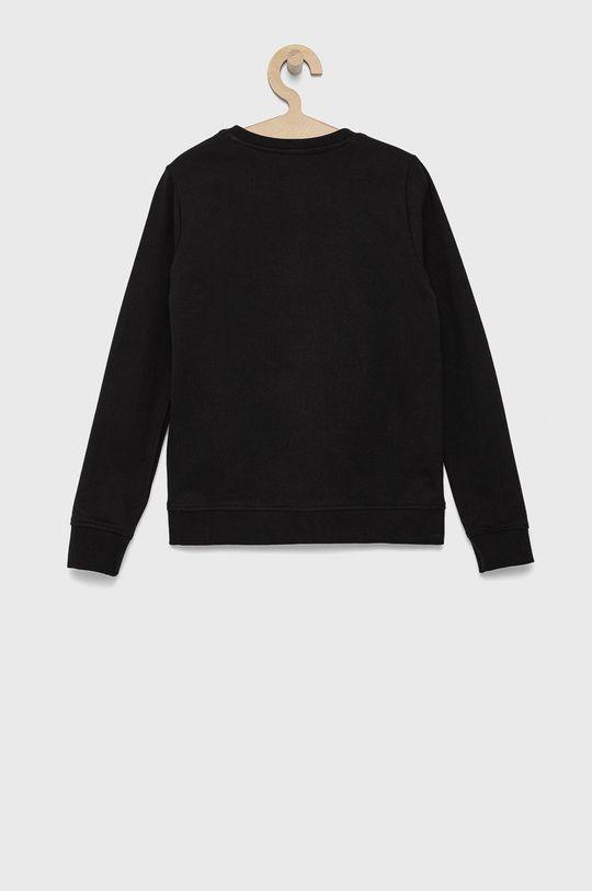 Guess - Bluza bawełniana dziecięca czarny