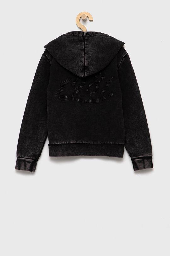 Guess - Bluza dziecięca czarny