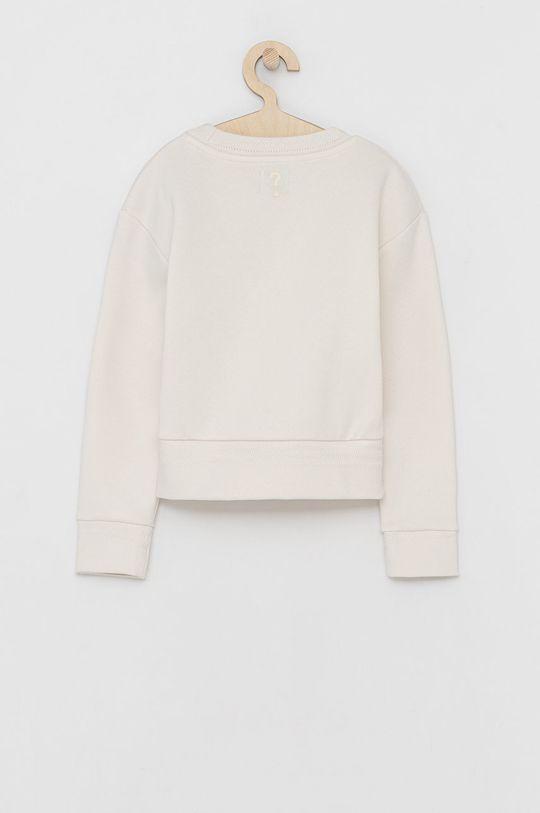 Guess - Bluza dziecięca kremowy