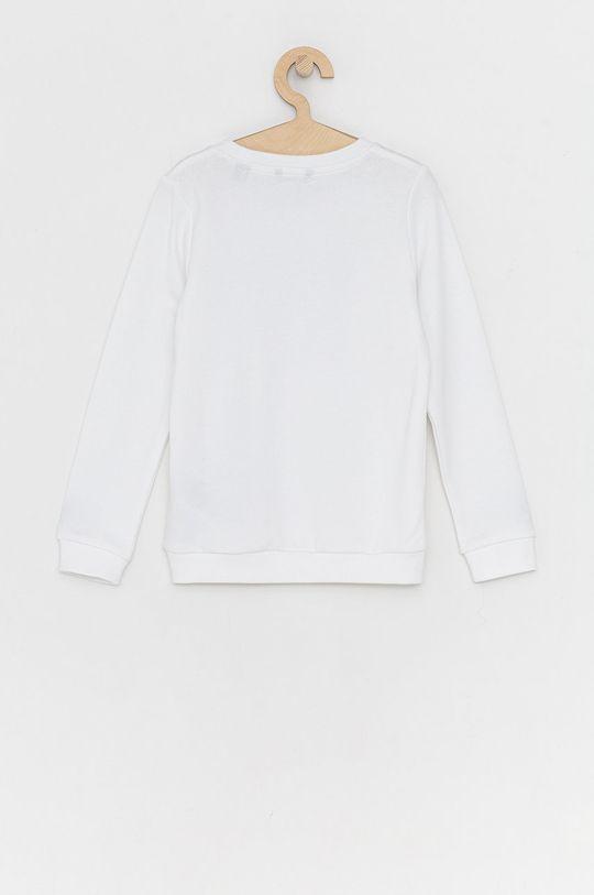 Guess - Bluza bawełniana dziecięca biały