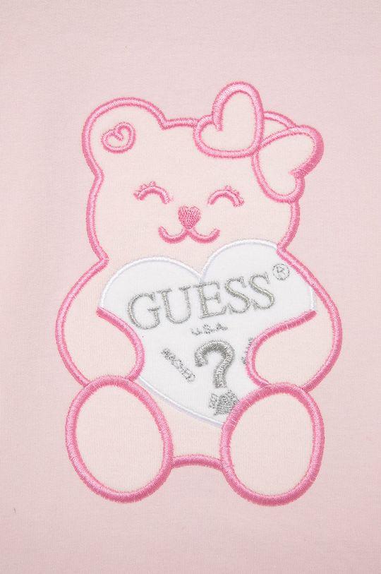 Guess - Bluza dziecięca 95 % Bawełna, 5 % Elastan