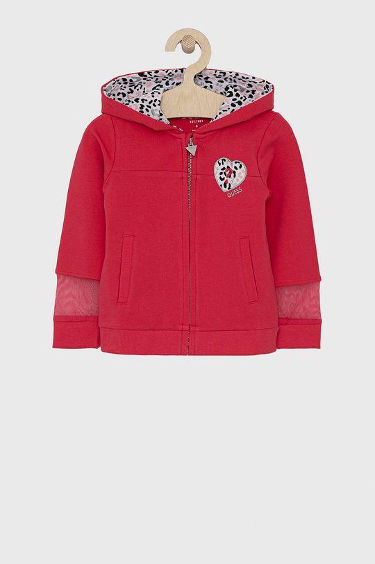 ostry różowy Guess - Bluza dziecięca 92-122 cm Dziewczęcy
