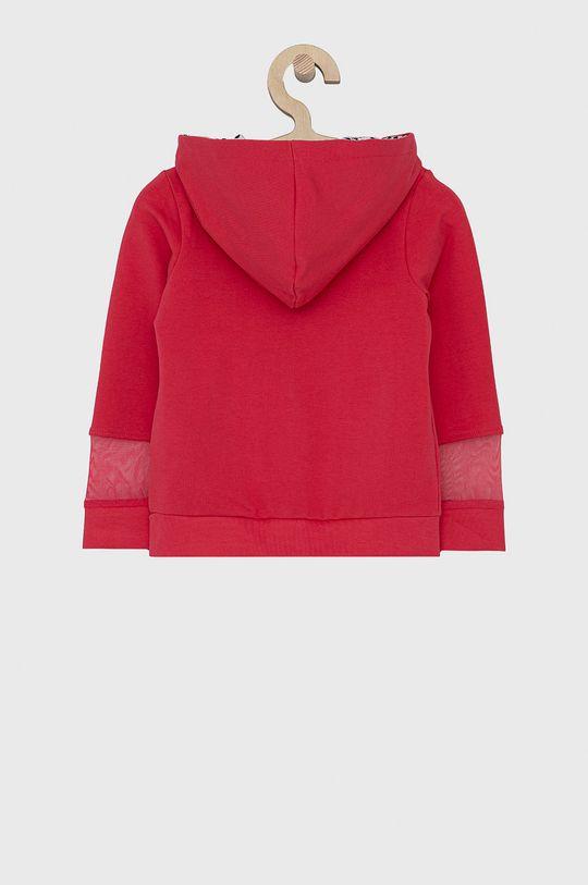 Guess - Bluza dziecięca 92-122 cm ostry różowy