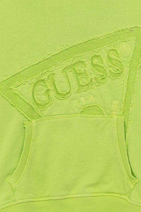 Guess - Bluza bawełniana dziecięca 100 % Bawełna