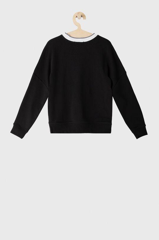 Calvin Klein Jeans - Bluza bawełniana dziecięca czarny