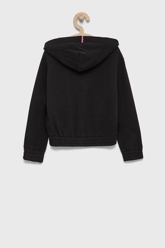 Tommy Hilfiger - Bluza bawełniana dziecięca czarny