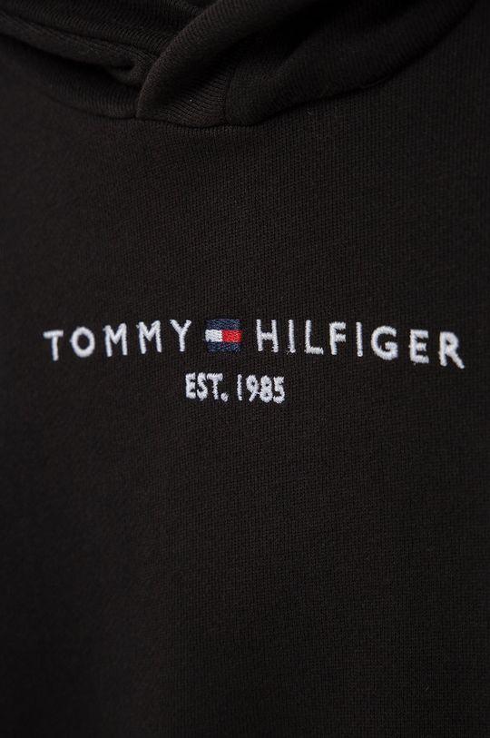 Tommy Hilfiger - Bluza bawełniana dziecięca 100 % Bawełna organiczna