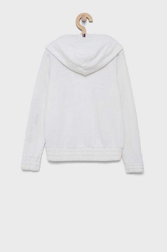 Tommy Hilfiger - Bluza bawełniana dziecięca biały