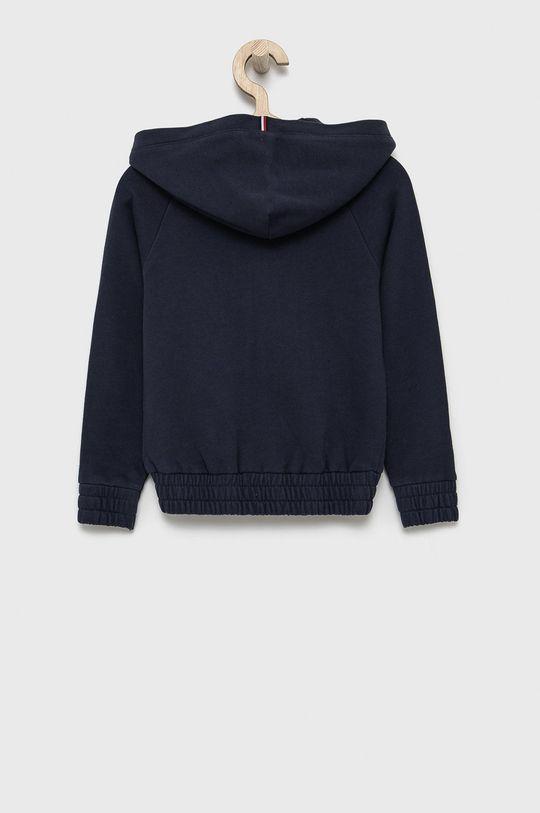 Tommy Hilfiger - Bluza bawełniana dziecięca granatowy