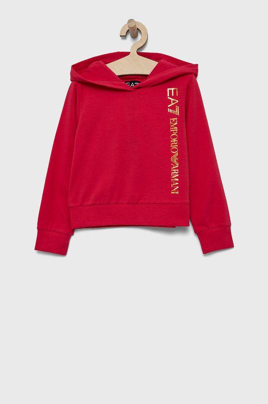 roz EA7 Emporio Armani - Bluza copii De fete