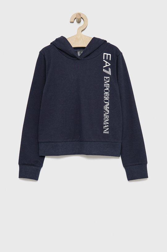 bleumarin EA7 Emporio Armani - Bluza copii De fete