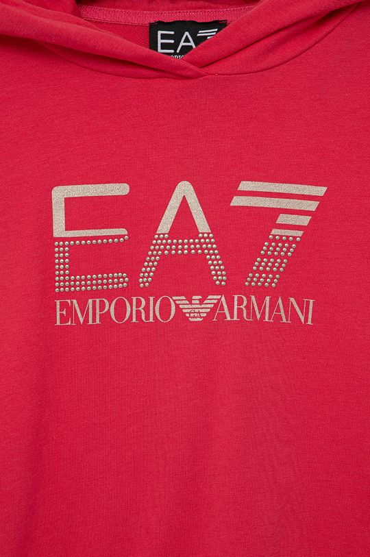 EA7 Emporio Armani - Bluza dziecięca Materiał zasadniczy: 95 % Bawełna, 5 % Elastan, Podszewka kaptura: 100 % Bawełna, Ściągacz: 96 % Bawełna, 4 % Elastan