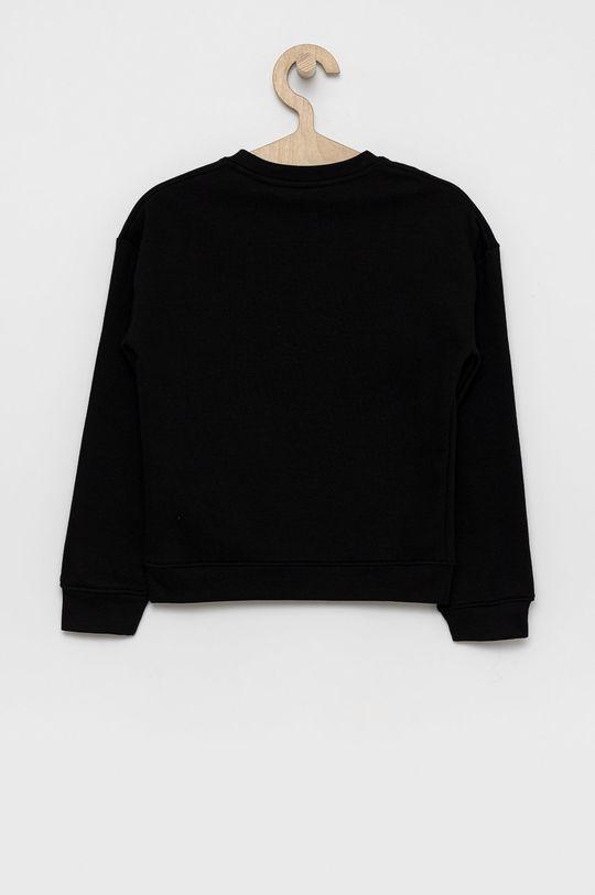 Guess - Bluza copii negru