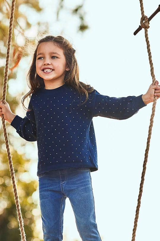 námořnická modř Mayoral - Dětská mikina Dívčí