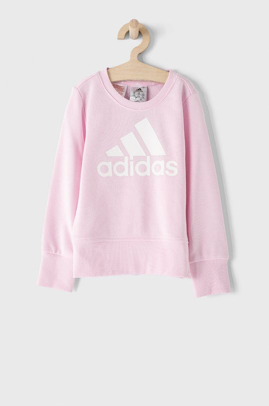 różowy adidas - Bluza dziecięca Dziewczęcy