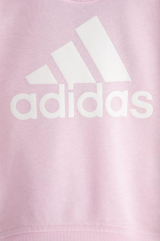 adidas - Bluza dziecięca Materiał zasadniczy: 53 % Bawełna, 36 % Poliester, 11 % Wiskoza, Ściągacz: 95 % Bawełna, 5 % Elastan