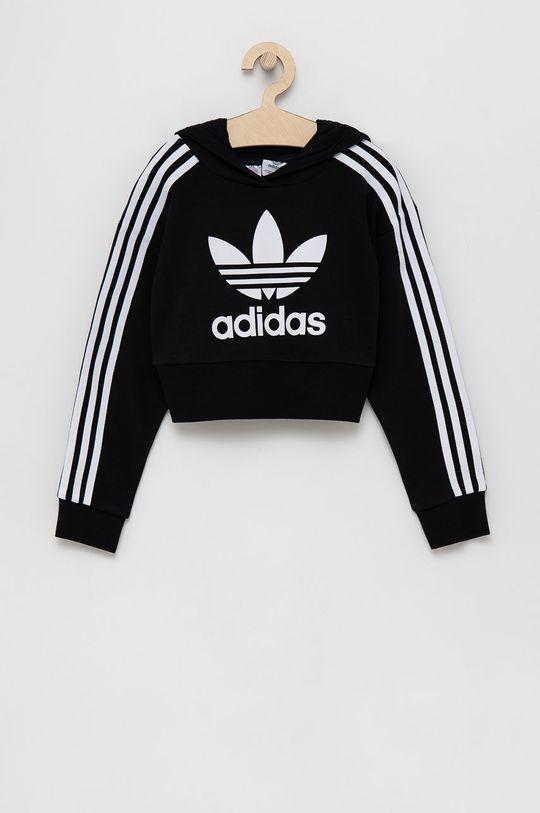 czarny adidas Originals - Bluza dziecięca Dziewczęcy