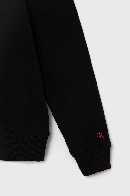 Calvin Klein Jeans - Bluza bawełniana dziecięca Materiał zasadniczy: 100 % Bawełna, Ściągacz: 97 % Bawełna, 3 % Elastan