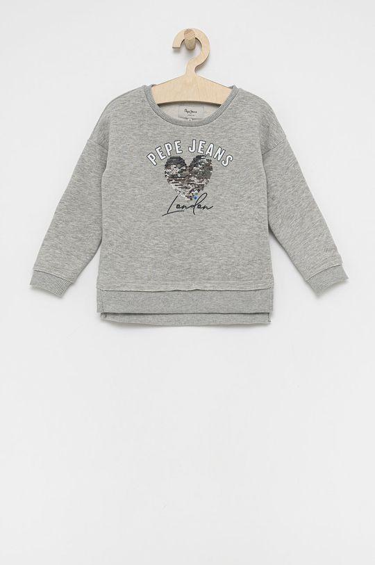 γκρί Pepe Jeans - Παιδική μπλούζα Danielle Για κορίτσια