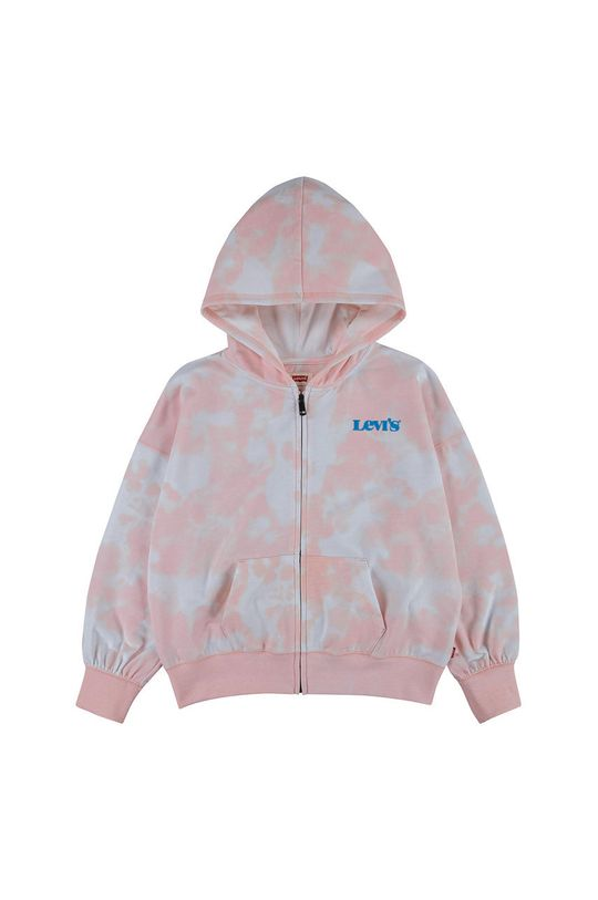 růžová Levi's - Dětská mikina Dívčí