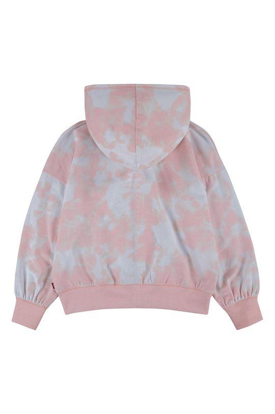 Levi's - Dětská mikina růžová