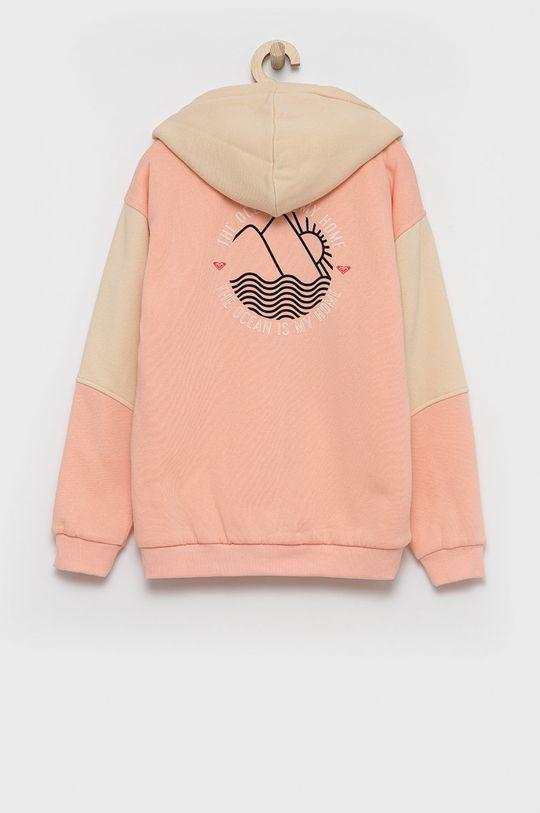 Roxy - Bluza dziecięca brzoskwiniowy