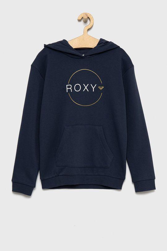granatowy Roxy - Bluza dziecięca Dziewczęcy