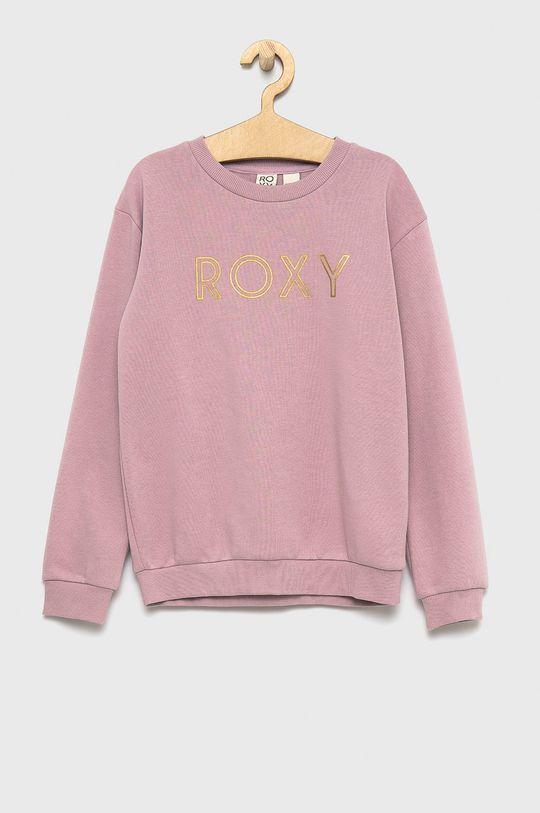 pastelowy różowy Roxy - Bluza dziecięca Dziewczęcy
