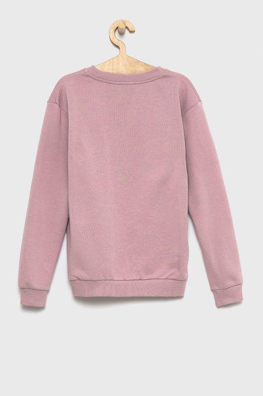 Roxy - Bluza dziecięca pastelowy różowy