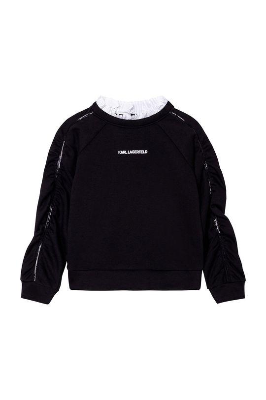 negru Karl Lagerfeld - Bluza copii De fete