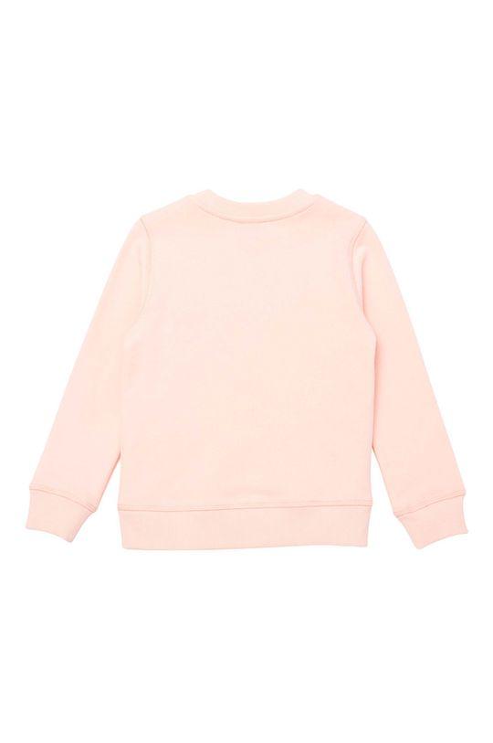KENZO KIDS - Detská bavlnená mikina ružová