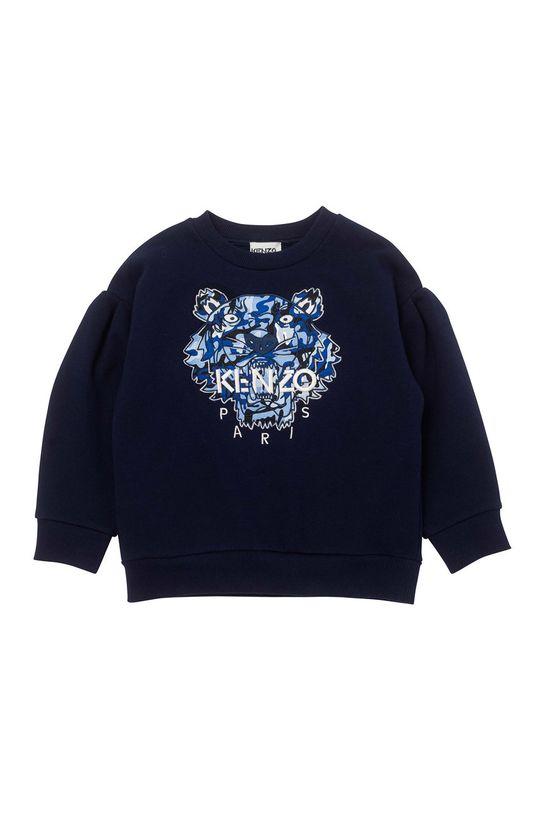 granatowy KENZO KIDS - Bluza dziecięca Dziewczęcy