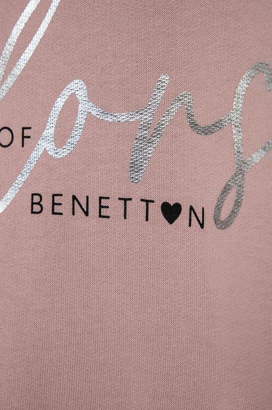 United Colors of Benetton - Bluza bawełniana dziecięca Materiał zasadniczy: 100 % Bawełna, Inne materiały: 96 % Bawełna, 4 % Elastan