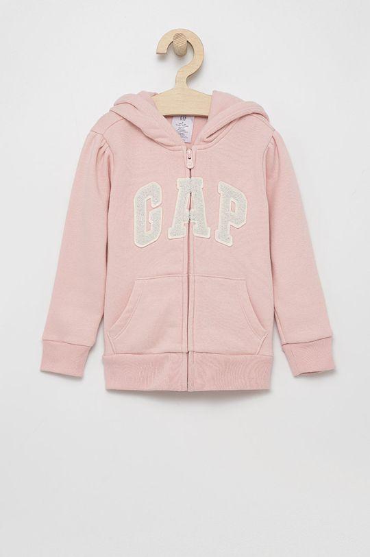 różowy GAP - Bluza dziecięca Dziewczęcy