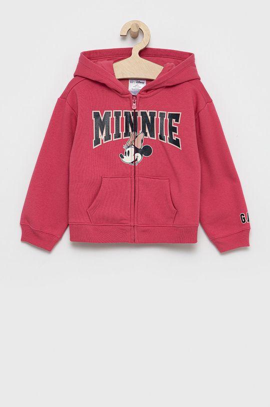 różowy GAP - Bluza dziecięca x Disney Dziewczęcy
