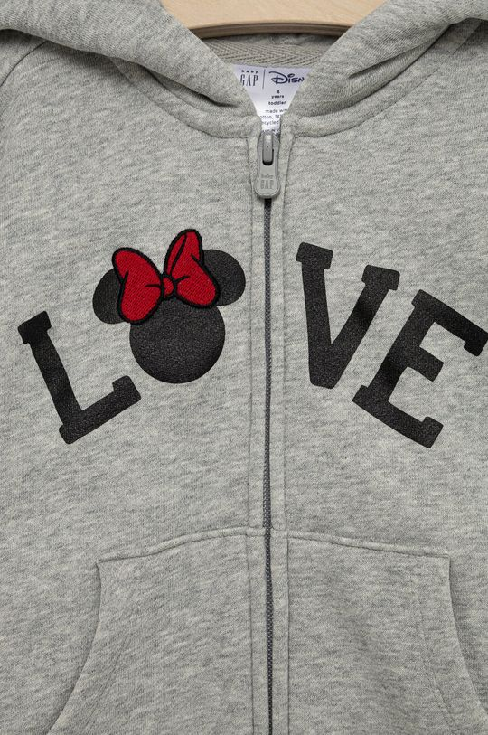 GAP - Bluza dziecięca x Disney Materiał zasadniczy: 77 % Bawełna, 14 % Poliester, 9 % Poliester z recyklingu, Podszewka kaptura: 100 % Bawełna