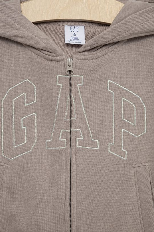 GAP - Bluza dziecięca Materiał zasadniczy: 23 % Poliester, 77 % Bawełna, Podszewka kaptura: 100 % Bawełna