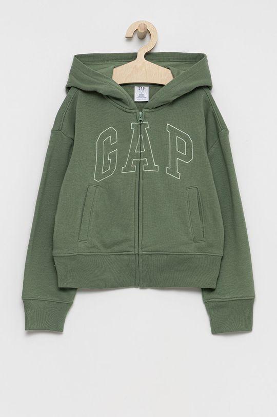 zielony GAP - Bluza dziecięca Dziewczęcy