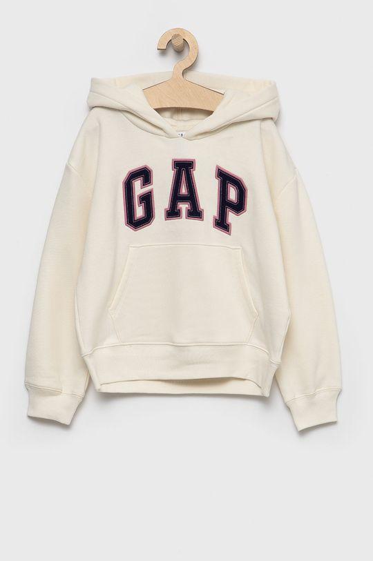 kremowy GAP - Bluza dziecięca Dziewczęcy